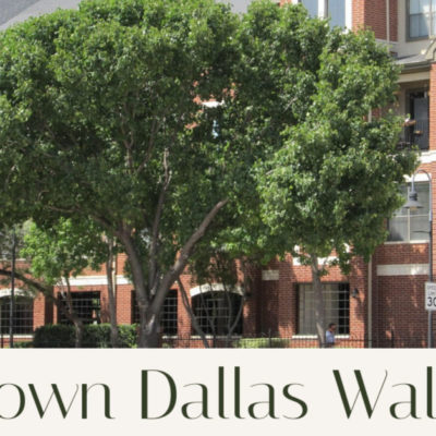 Is Uptown Dallas Walkable?